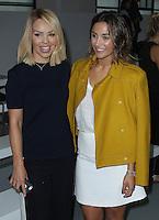 Katie Piper & Frankie Bridge, London Fashion Week SS17 - Jasper Conran, BFC Catwalk Show Space, London UK, 17 September 2016