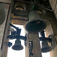 Europe, Spain, Seville. The Cathedral of Seville, Cathedral de Sevilla. The bells of La Gironda.