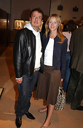NICKY HASLAM and KATE REARDON at a party to celebrate the publication of 'Last Voyage of The Valentina' by Santa Montefiore at Asprey, 169 New Bond Street, London W1 on 12th April 2005.<br /><br />NON EXCLUSIVE - WORLD RIGHTS
