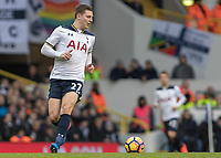 Football - 2016 / 2017 Premier League - Tottenham Hotspur vs. Stoke City<br /> <br /> Kevin Wimmer of Tottenham at White Hart Lane.<br /> <br /> COLORSPORT/DANIEL BEARHAM