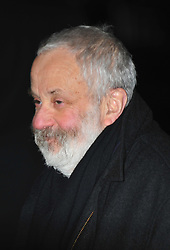 © Licensed to London News Pictures. 05/12/2012. London, England. Mike Leigh attends the  a special VIP screening of Coriolanus at the curzon cinema Mayfair London  Photo credit : ALAN ROXBOROUGH/LNP