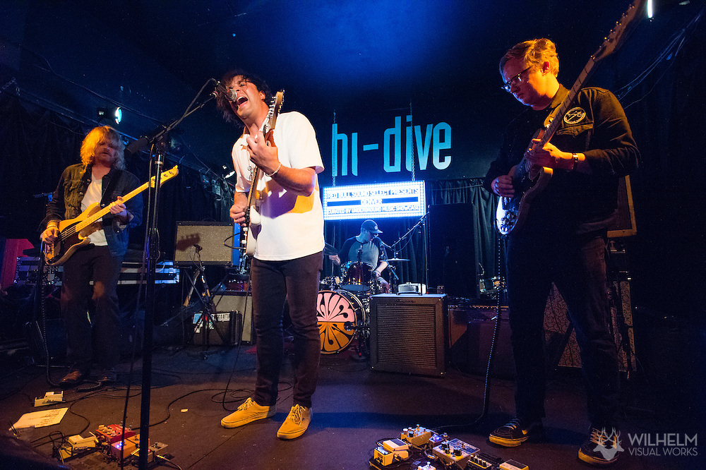 Ned Garthe Explosion performs at Red Bull Sound Select Presents Denver at the Hi-Dive in Denver, CO, USA, on 14 May, 2015.