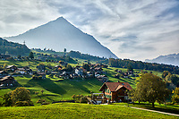 Krattigen, Switzerland is located along lake Thunersee. It might be a small town but the scenery packs a punch.