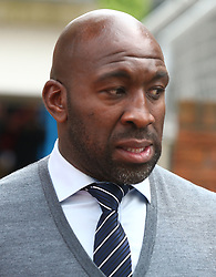 May 13, 2018 - London, England, United Kingdom - West Bromwich Albion Caretaker manager Darren Moore .during the Premiership League match between Crystal Palace and West Bromwich Albion (WBA) at Selhurst Park, London, England on 13 May  2018. (Credit Image: © Kieran Galvin/NurPhoto via ZUMA Press)