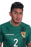 Football Conmebol_Concacaf - <br />Copa America Centenario Usa 2016 - <br />Bolivia National Team - Group D - <br />Erwin Mario Saavedra Flores