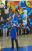 Under Armour and UCLA Athletics - The 2017 Bruins at the Beach, Venice Beach Takeover with the UCLA Men's and Women's Basketball teams, Venice Beach Basketball Courts, Venice Beach, CA.<br /> October 7th, 2017<br /> Copyright Don Liebig/ASUCLA<br /> 171007_UA_955.NEF