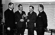 12/11/1964<br /> 11/12/1964<br /> 12 November 1964<br /> <br /> Mr. Eric Craugie Chairman presenting Mr P. Wogan with the Mervill Perpetual Trophy
