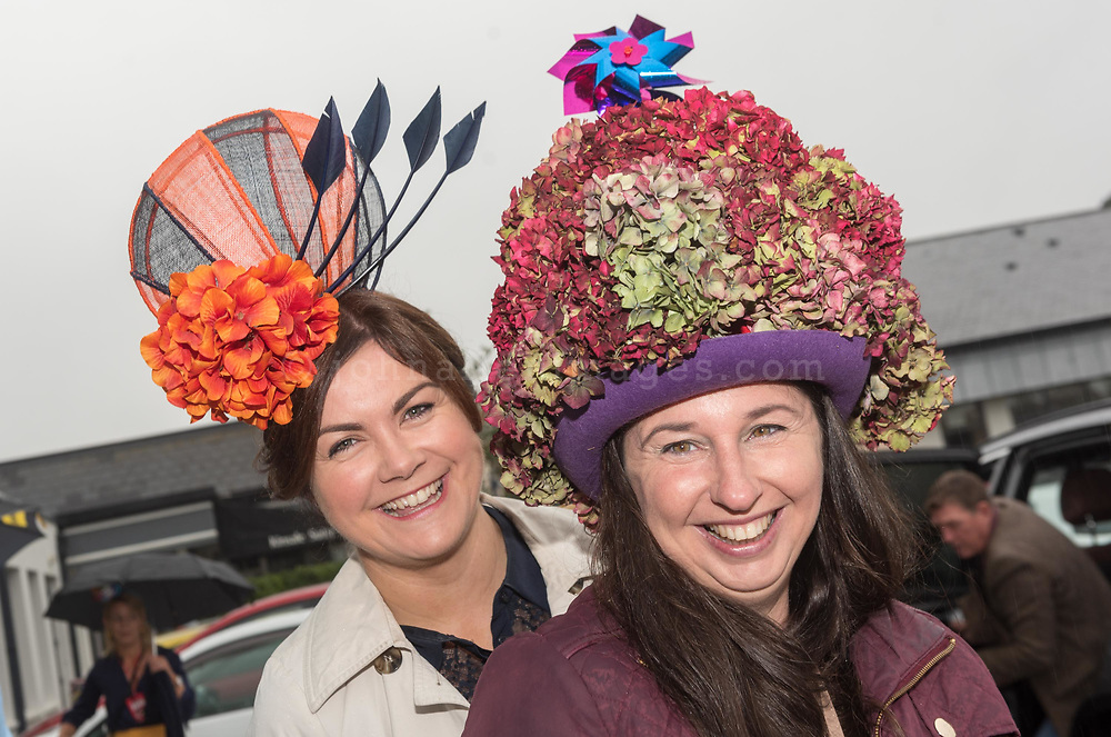REPRO FREE<br /> Marie Keogh, Carrigaline and Laura Tierney, Minane Bridge pictured at the 42nd Kinsale Gourmet Festival Mad Hatters Taste of Kinsale.<br /> Picture. John Allen