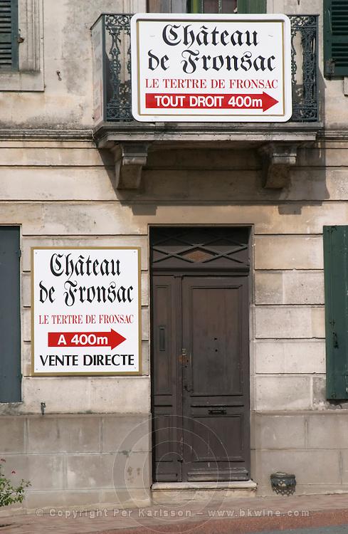 Chateau de Fronsac. Bordeaux, France