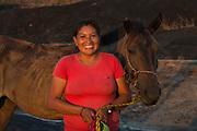 Amerindian Cowgirl<br /> Savanna <br /> Rurununi<br /> GUYANA<br /> South America