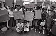 Higglers demonstration at Port Antonio Market