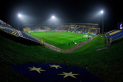 Stadium during friendly football match between National teams of Slovenia and Canada on November 19, 2013 in Arena Petrol, Celje, Slovenia.  Photo by Vid Ponikvar / Sportida