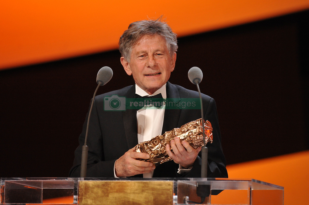 Roman Polanski and Emmanuelle Beart during the 36th Cesar Film Awards ceremony held at the Theatre du Chatelet in Paris, France on February 25, 2011. Photo by Nicolas Gouhier/ABACAPRESS.COM