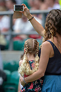 Twickenham, United Kingdom,  2nd June 2019, Quilter Cup, England Women v Barbarians Women, played at the RFU Stadium, Twickenham, England, Mother and daughter Selfie,<br /> © Peter SPURRIER/Intersport Images,<br /> <br /> 12:41:17  02/06/2019