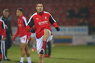 Rotherham United defender Richard Wood (6)  during the Sky Bet Championship match between Rotherham United and Middlesbrough at the New York Stadium, Rotherham, England on 8 March 2016. Photo by Simon Davies.