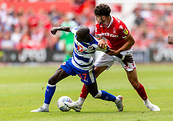 Reading's Madou Barrow and Nottingham Forest's Tobias Figueiredo