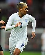 Lianne Sanderson of England Women<br /> - Womens International Football - England vs Germany - Wembley Stadium - London, England - 23rdNovember 2014  - Picture Robin Parker/Sportimage
