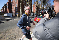 © Licensed to London News Pictures. 24/03/2019. London, UK. Secretary of State for Environment, Food and Rural Affairs MICHAEL GOVE MP is seen running near his London home on the morning of March 24. There have been reports of a cabinet revolt against Prime Minister Theresa May, over her handing of the Brexit negotiations.  Photo credit: Ben Cawthra/LNP