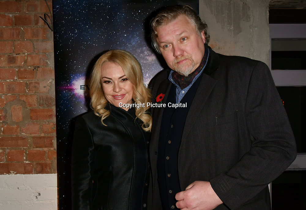 Sarina Taylor and Rock Salt arrivers at Eleven Film Premiere at Picture House Central, Piccadilly Circus on 10 November 2018, London, Uk.