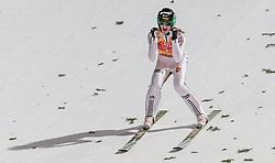 06.01.2016, Paul Ausserleitner Schanze, Bischofshofen, AUT, FIS Weltcup Ski Sprung, Vierschanzentournee, Bischofshofen, Finale, im Bild Peter Prevc (SLO) jubelt über den Gesamtsieg // Peter Prevc of Slovenia celebrates victory and overall victory of the Four Hills Tournament of FIS Ski Jumping World Cup at the Paul Ausserleitner Schanze in Bischofshofen, Austria on 2016/01/06. EXPA Pictures © 2016, PhotoCredit: EXPA/ JFK