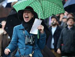 Racegoers watch from the stands during day two of the November Meeting at Cheltenham Racecourse, Cheltenham