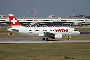 HB-IPV Swiss Airbus A319-112 at Malpensa (MXP / LIMC), Milan, Italy