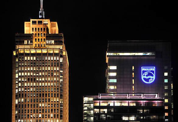 Nederland, Amsterdam, 21-10-2011Het hoofdkwartier van Philips aan de amstel.Foto: Flip Franssen/Hollandse Hoogte