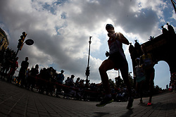 Florian Prueller of Austria competes in the Mens Marathon during day six of the 20th European Athletics Championships at the roads of city Barcelona on August 1, 2010 in Barcelona, Spain. (Photo by Vid Ponikvar / Sportida)