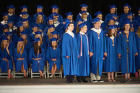 Gilford High School graduation June 11, 2011.