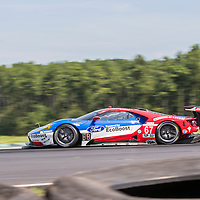 Alton, VA - Aug 26, 2016:  The Chip Ganassi Racing Ford GT races through the turns at the Oak Tree Grand Prix at Virginia International Raceway in Alton, VA.