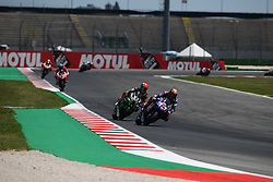 July 8, 2018 - Misano, Italy, Italy - 60 Michael van der Mark NED Yamaha YZF R1 Pata Yamaha Official WorldSBK Team  during the Motul FIM Superbike Championship - Italian Round  Sunday race during the World Superbikes - Circuit PIRELLI Riviera di Rimini Round, 6 - 8 July 2018 on Misano, Italy. (Credit Image: © Fabio Averna/NurPhoto via ZUMA Press)