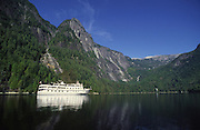 Cruise ship, Prices Louisa Inlet, British Columbia, Canada<br />