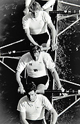 Chiswick,  Greater London England, 1994 Head of the River Race,  [© Peter Spurrier/Intersport Images], Chiswick Bridge, LEANDER I, 26 March 1994, Steve Redgrave, Cal McLennan.