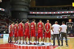 September 17, 2018 - Gdansk, Poland - Croatia team is seen in Gdansk, Poland on 17 September 2018  Poland faces Croatia during the Basketball World Cup China 2019 Qualifiers game in the ERGO Arena sports hall in Gdansk  (Credit Image: © Michal Fludra/NurPhoto/ZUMA Press)