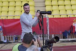 September 16, 2017 - Monaco, France - Danijel Subasic (AS Monaco) s amuse avec les photographes (Credit Image: © Panoramic via ZUMA Press)