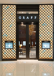 Graff shop in Dubai Mall United Arab Emirates