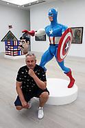 Artist Ben Turnbull presents American History RemiX at London's Saatchi Gallery
