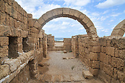 Israel, Caesarea, The Hippodrome built by king Herod first century BC