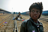 Poverty - India's Train Children of Jaipur