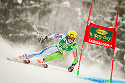 Stefan Hadalin of Slovenia during 2nd run of Men's Giant Slalom race of FIS Alpine Ski World Cup 57th Vitranc Cup 2018, on March 3, 2018 in Podkoren, Kranjska Gora, Slovenia. Photo by Ziga Zupan / Sportida