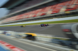 February 21, 2019 - Barcelona, Spain - Thai driver Alexander Albon of Italian team Red Bull Toro Rosso Honda driving his single-seater STR14 during Barcelona winter test in Catalunya Circuit in Montmel?, Spain  (Credit Image: © Andrea Diodato/NurPhoto via ZUMA Press)