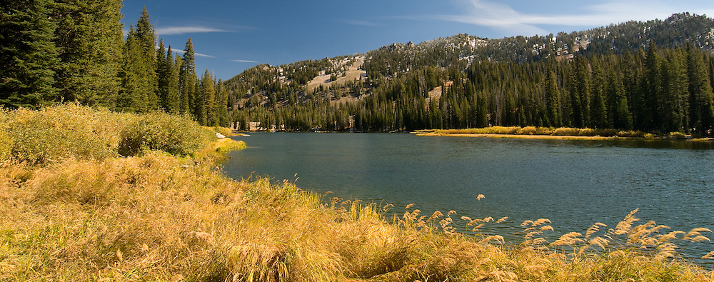 Mountain Lake near Atlanta, Idaho.