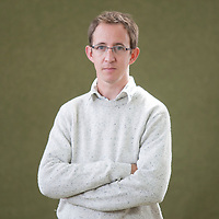 Nathan Filer at Edinburgh International Book Festival 2014<br /> 9th August 2014<br /> <br /> Picture by Russell G Sneddon/Writer Pictures<br /> <br /> WORLD RIGHTS