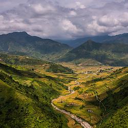 Van Chan Ricefields, Yen Bai Province, North Vietnam