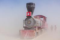 Great Train Wreck by: Collaborative Artisans - Reno & Sacramento, & Debby Brower from: Sacramento, CA and Reno, NV year: 2018