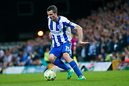 Brighton & Hove Albion winger Jamie Murphy (15) in action  during the EFL Sky Bet Championship match between Norwich City and Brighton and Hove Albion at Carrow Road, Norwich, England on 21 April 2017. Photo by Simon Davies.