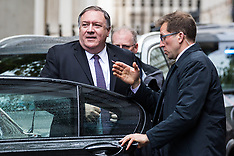 2019-05-08 US Secretary of State Mike Pompeo at Downing Street