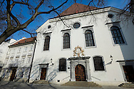 Jesuit Church, next to the Old Town Hall in Bratislava, Slovakia