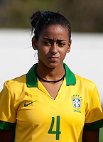 Fifa Womans World Cup Canada 2015 - Preview //<br /> Algarve Cup 2015 Tournament ( Municipal Stadium - Albufeira , Portugal ) - <br /> Brazil vs China 0-0 - Tayla Pereira dos Santos of Brazil