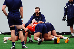 Alasdair Dickinson (Scrum Coach) in action as Bristol Bears start to use their new almost completed Training centre - Rogan/JMP - 08/07/2020 - RUGBY UNION - Beggar Bush Lane - Bristol, England.